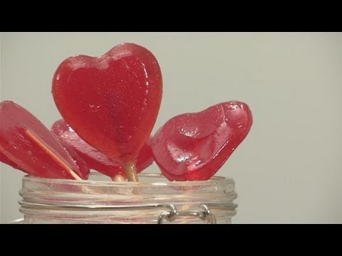 How To Make Heart Shaped Lollipops