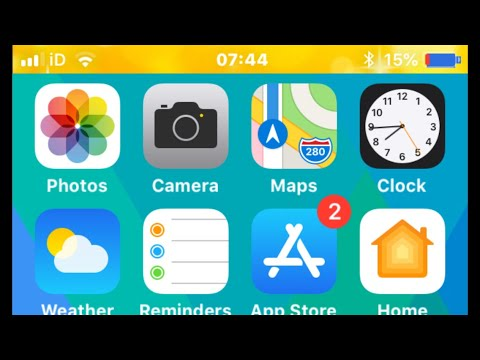 How To Change Any iPhone Status Bar Battery Icon Color & Whole Status Bar (No Jailbreak Required)