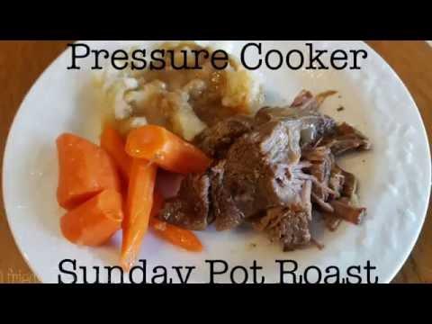 Pressure Cooker Sunday Pot Roast