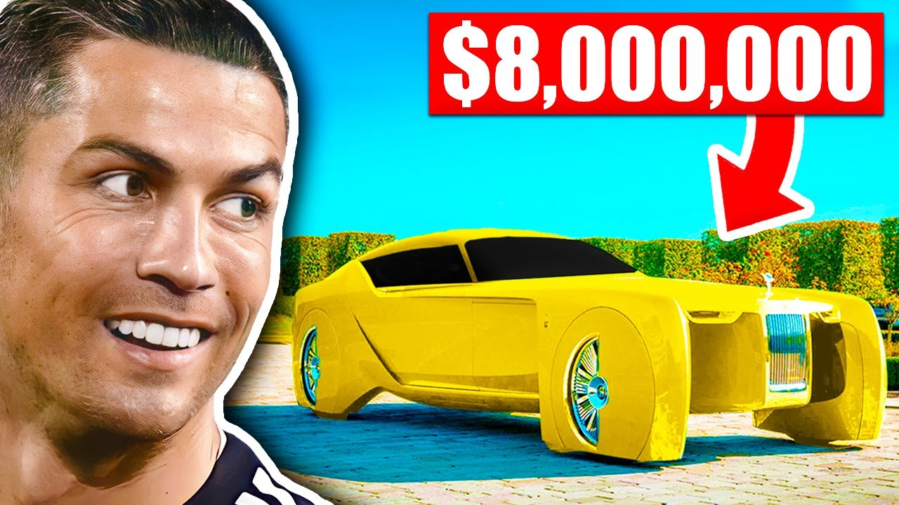 Most Expensive Cars of Football Players