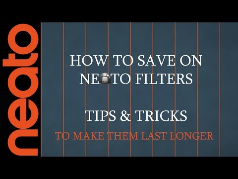 Neato Filters - How To Extend Their Life Tips & Tricks