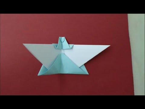How to make origami christmas angel