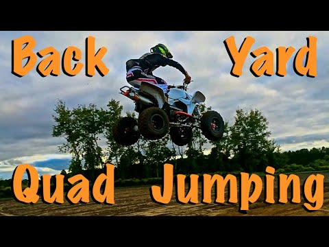 Backyard Quad Jumping