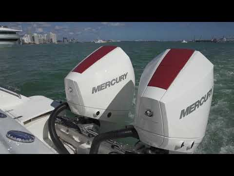 Mercury's 3.4 Litre V6 225hp on the water at Miami Boat Show