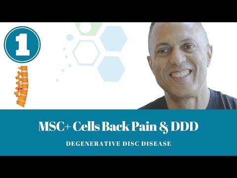 Stem Cell Treatment Degenerative Disc Disease Reverse Lumbar Disc Back Pain Alternative DDD IVD 2018