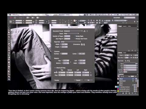 How to Setup a Brochure in InDesign CC