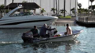 Human Steering Arm ! Chit Show Miami ! (BlackPoint Marina)