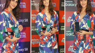 Bollywood actor Vaani Kapoor during the launch of Samsung Galaxy S8 smartphone
