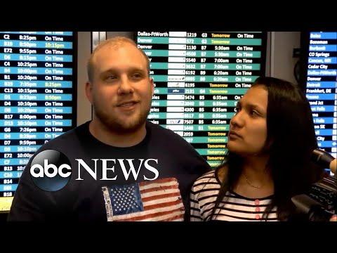 American imprisoned in Venezuela reunites with family