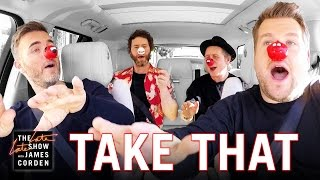 Comic Relief - Take That Carpool Karaoke: UK Red Nose Day Special Edition