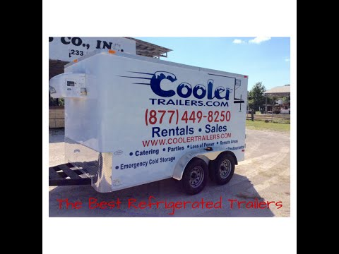 Best Portable Refrigerated Trailers| Cooler Trailers
