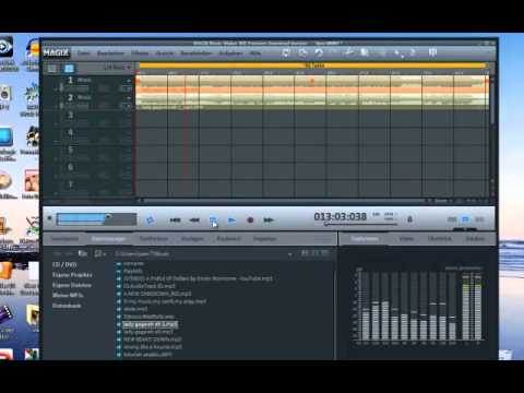 How To Remove Vocals MP3 Using AUDACITY With MAGIX MUSIC MAKER [[ COMBINATION ]]