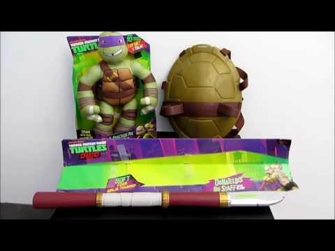 Teenage Mutant Ninja Turtles Shell, Blade and Plush Toy