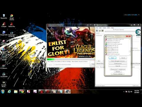 Download LOL super fast with:Cheat Engine 6.3 with download link