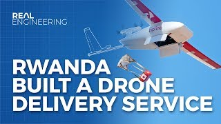 How Rwanda Built A Drone Delivery Service