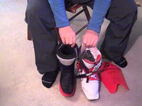How to Pull & Replace Ski Boot Liners