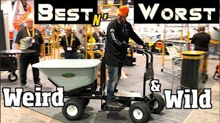 Latest and Greatest Landscape & Construction tools - The Best & Worst Power tools & Innovations 2018