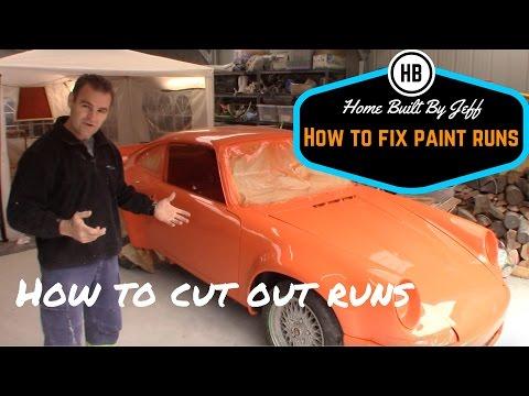 How to fix paint runs