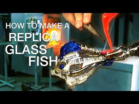 How to make a glass fish replica
