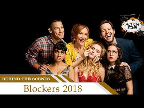 Behind the Scenes Blockers 2018 | John Cena has found a new sport… butt-chugging