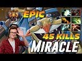 Miracle Techies 45 Frags EPIC 2 Hours Game Dota 2 Pro Gameplay