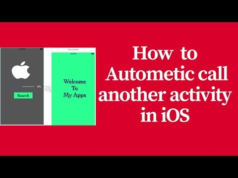 how to autometic call another viewController in ios (swift)