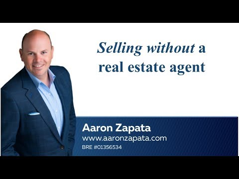 Selling Without a Real Estate Agent - Should you sell For Sale By Owner and go at it alone?
