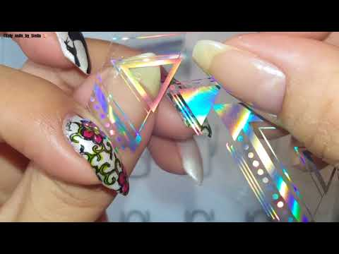Nail Foils Review 💅 From Major Dijit Store