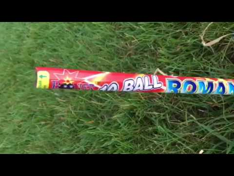 July 4th home fireworks and fire cracker comparisons.