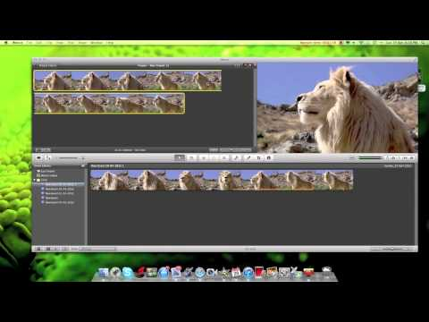 Slow-motion tutorial in iMovie 11