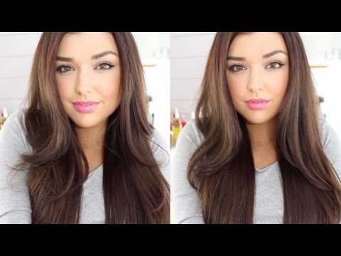Hair Tutorial: How To Straight Hair With Volume & Body | In Styler |Chloé Zadori