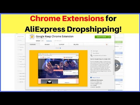 Google Chrome Extensions for Everyone Doing Aliexpress Dropshipping 🛠