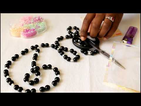 No clasp necklace - How to make a seed beaded necklace without a clasp / marymakula jewelry