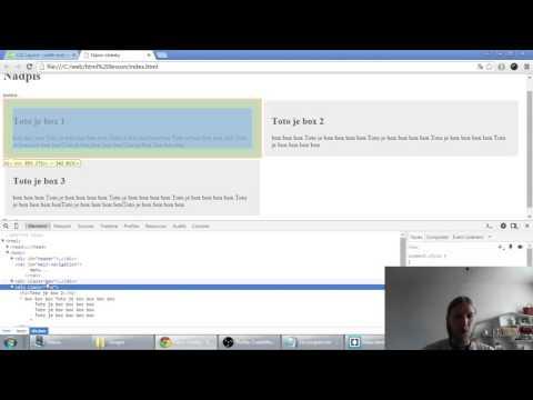 Web developerská škola, časť 42: CSS float a clear