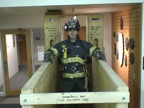 Firefighter Training Wall Prop - Denver Drill Attachment