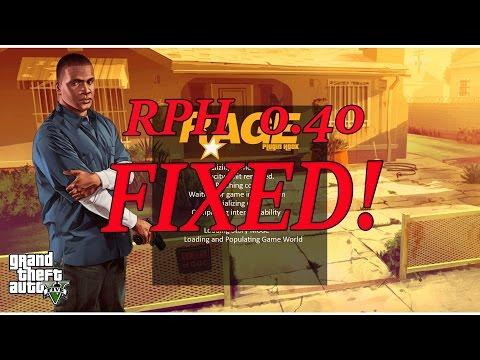 GTA 5: LSPDFR: RAGE Plugin Hook 0 40 - Finally FIXED!!! - PlayTunez