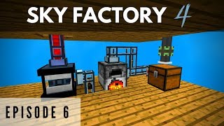 Sky Factory 4 :: Episode 4 - Tinkers Smeltery and Diamond