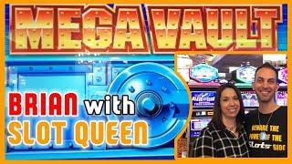 💰MEGA VAULT with Slot Queen 👑 at Grand Sierra Resort Casino ✦ Brian Christopher Slots