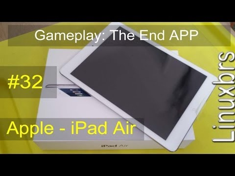 Gameplay iOS 7.0.4 - The End APP - Apple iPad Air - PT-BR - Brasil