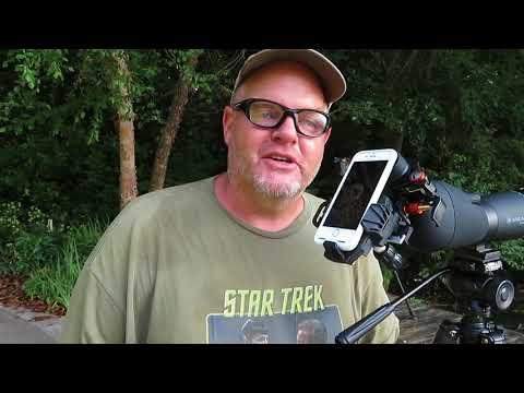 Using the Celestron NexYZ Birding with Stephen W Ramsden of Sunlit Earth!!