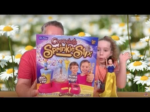 Wacky Wednesday 114 - Chocolate Sprinkle Sticks by John Adams Toys