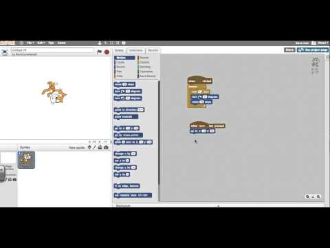 Creating reset command in scratch