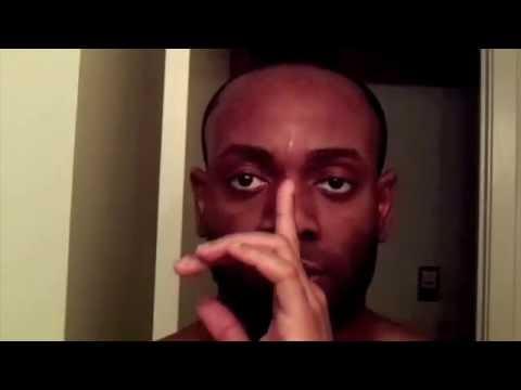 How To Cut Black Mens Hair- Grooming/ Hairline Tutorial