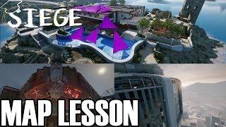 How I Teach Friends Maps #3 - Siege School Mini-Lesson (Rainbow Six Siege)