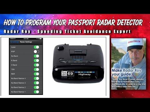How to Program Your Escort Passport Radar Detector - Radar Roy