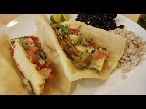 Tofu Fajitas w/ Flour Tortillas|Solo Budget-Vegan