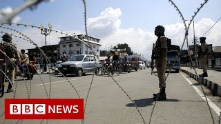 High security ahead of Eid in Kashmir  - BBC News