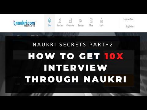How to get more Interview calls through Naukri.com Part 2