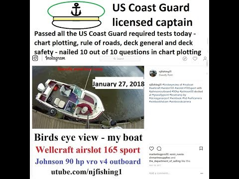 How I became a US Coast Guard licensed Captain (got a Charterboat Captain's License)?