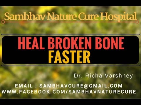 How to heal fracture | broken bone faster in hindi video - Acupressure Points Home Remedies